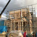 【住宅】木工事開始しました