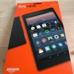 Amazon Fire HD 8を購入!iPad mini4と比較してみました